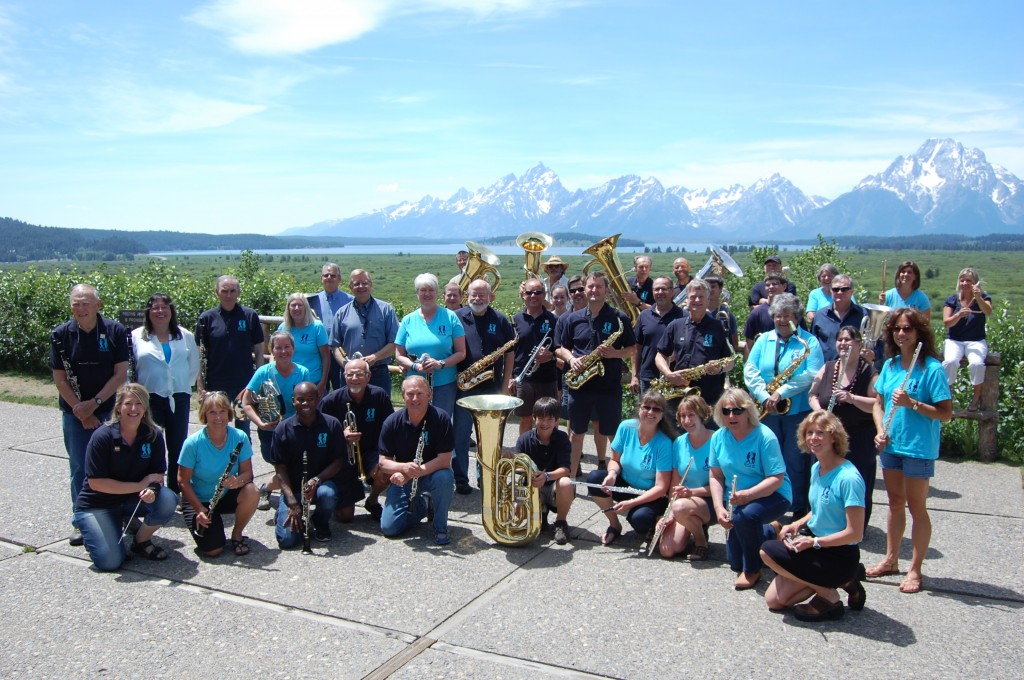 The Jackson Hole Community Band July 5th, 2014