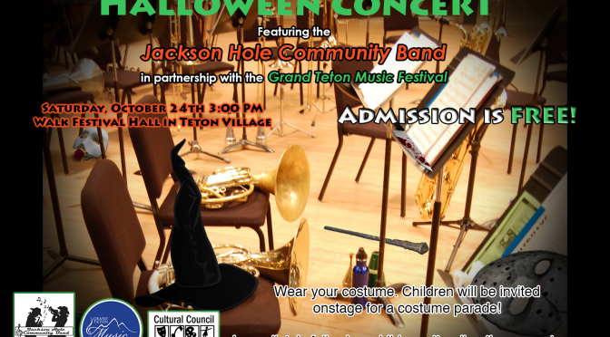 6th Annual Halloween Concert this Saturday