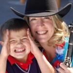 Jennifer and her son Blake