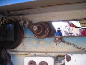 06.Glide wheel in  open position